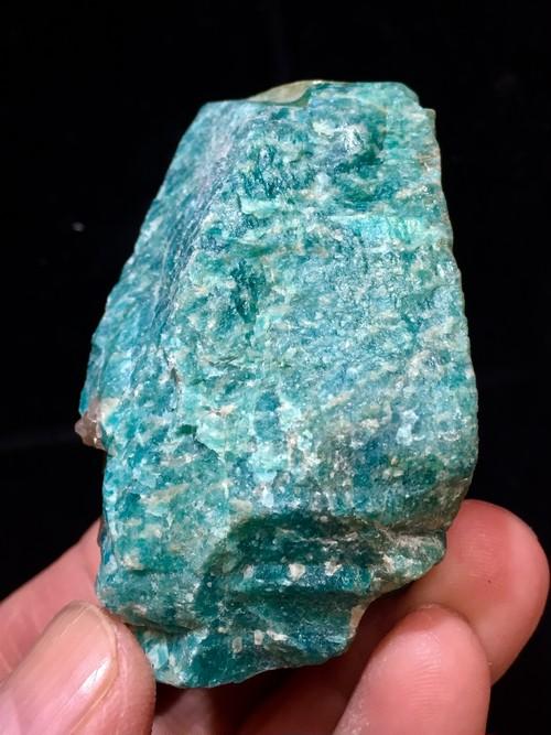5) ロシアン・アマゾナイト原石