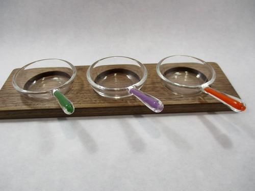 フライパン皿セット(大)【緑・紫・橙 3個セット】⑤