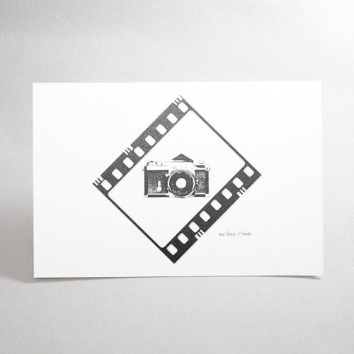 We love 35mmポストカード(F)
