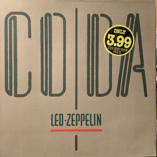 【LP】LED ZEPPELIN/Coda