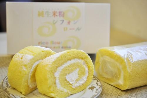 純生米粉シフォンロール(1本)