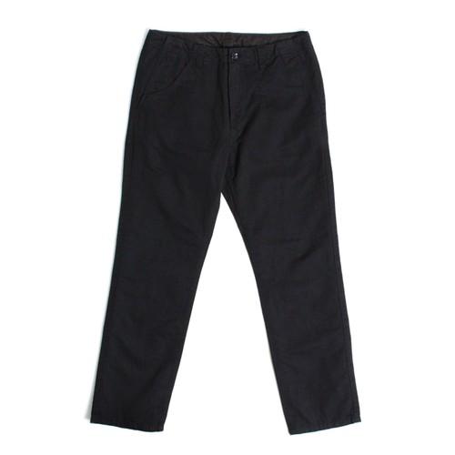 Linen Chino pants -Black