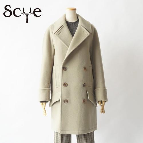 SCYE/サイ・Wool And Cashmere Melton Cape Coat