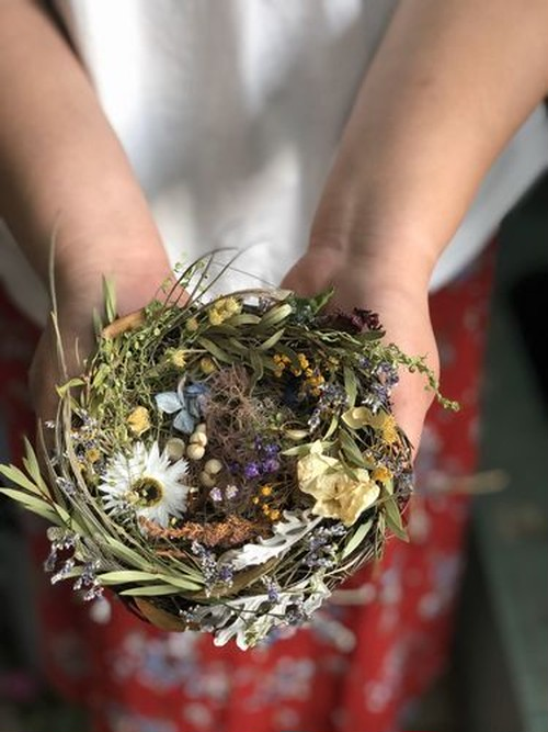 birds nest アレンジ①