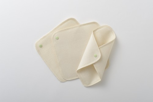 竹から生まれた布ナプキン ホルダー3枚セット