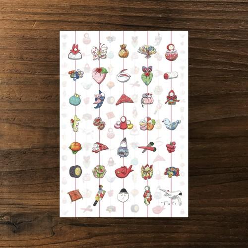 雛のつるし飾り(30種)