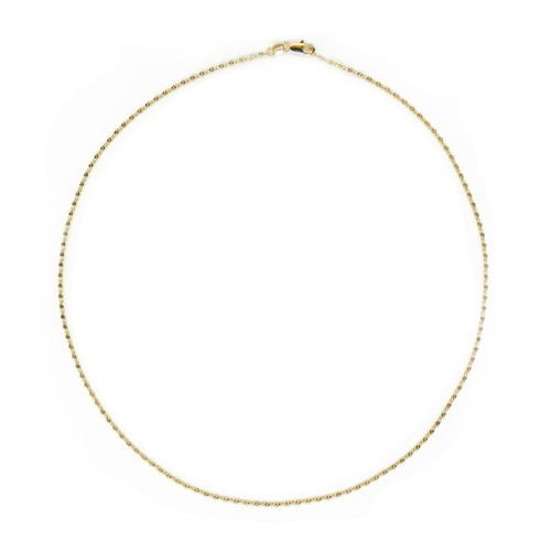 【GF1-38】20inch gold filled chain necklace
