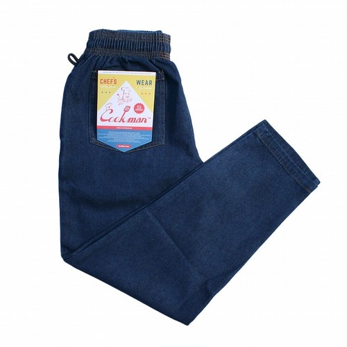 COOKMAN CHEF PANTS「DENIM」/ NAVY
