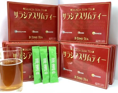 【夏に向けて限定入荷!】D・TIME・TEA『サラシアスリムティー』6箱セット