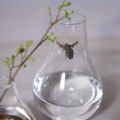 シングル・フラワーベース ミツバチ
