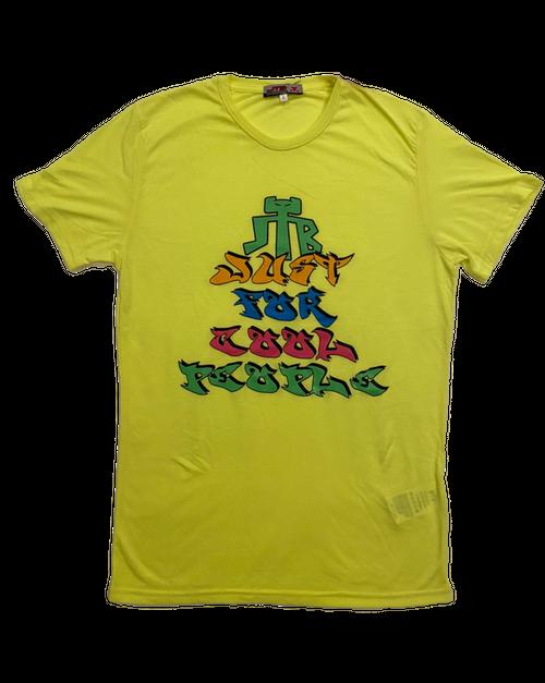【JTB】JUST LOGO Tシャツ【イエロー】イタリアンウェア《M&W》