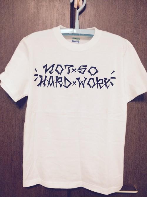 スラッシャーロゴTシャツ ホワイト