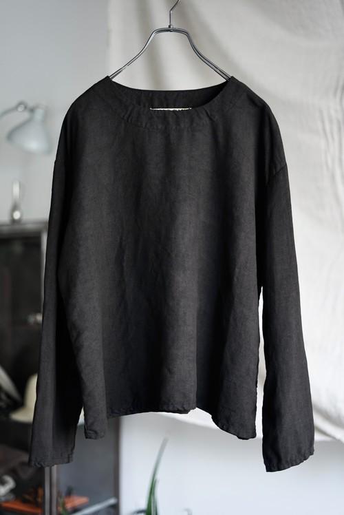Vincent Jalbert - Full Vintage Linen T Shirt (black)
