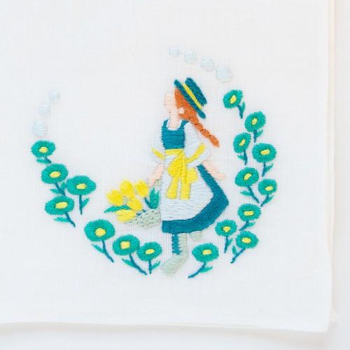 【限定】『赤毛のアン』ハンカチ刺繍キット