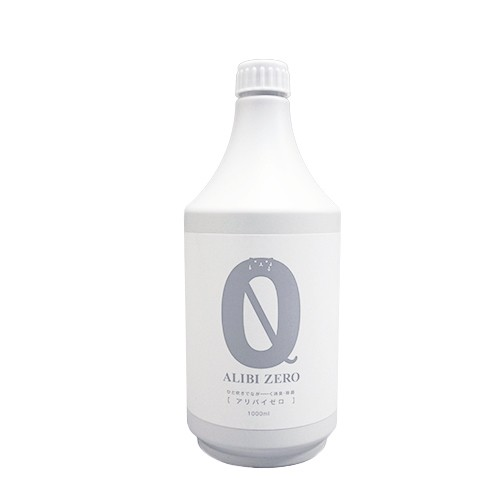 【詰め替え用】ペット専用消臭・除菌スプレー ALIBI ZERO(アリバイゼロ)1000ml