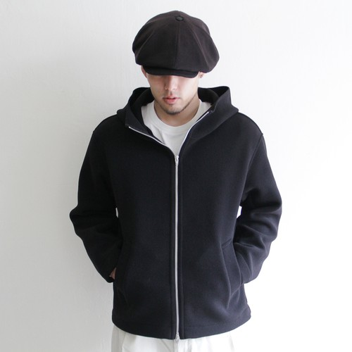 LAMOND 【 mens 】wool stretch wrap around parka