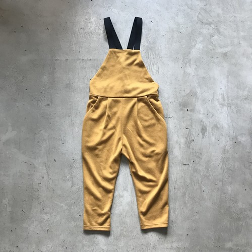 punch knit overalls