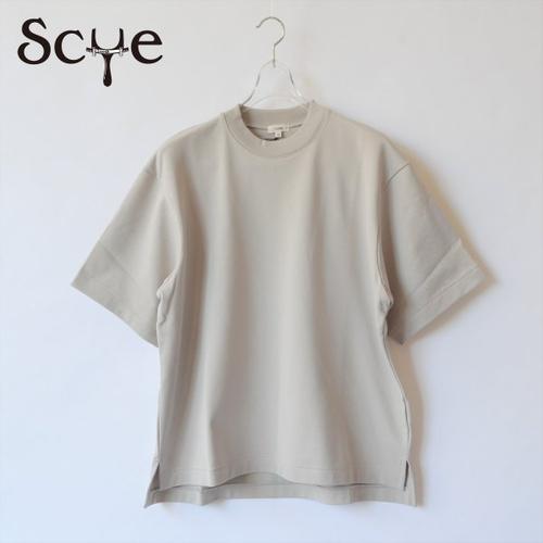 Scye/サイ・ loopback terry big Tee