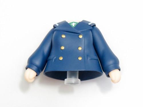 【825】 西住みほ パンツァージャケット&Pコート Ver.  体パーツ Pコート上半身 ねんどろいど