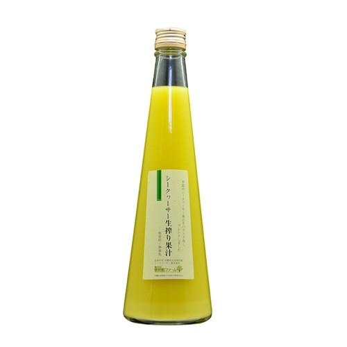 シークヮーサー生搾り果汁(青切りブレンド) 500ml