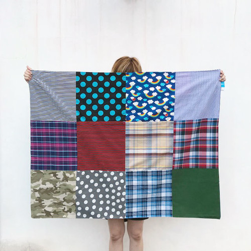 Patchwork  Multi Cover&Rug