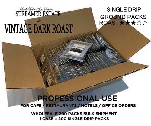 【お問い合わせ対応承ります!】卸売のお取引詳細 VINTAGE DARK ROAST  粉(ヴィンテージダークロースト)ドリップコーヒー