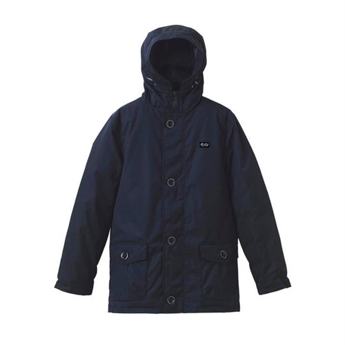 scar /////// MONOLITH FIBER DOWN HOODED JACKET (Navy)