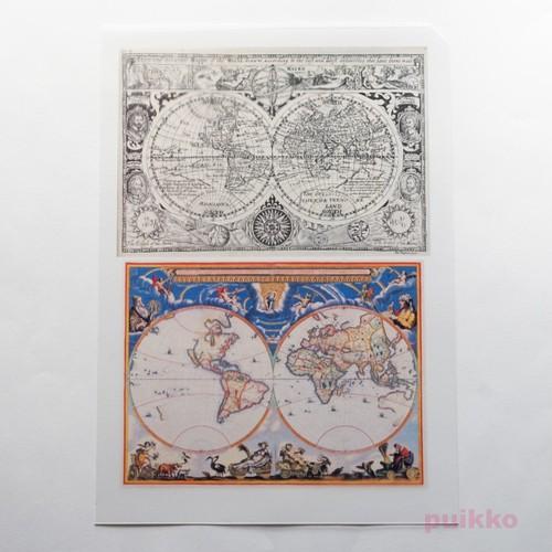古地図3 レジン封入用フィルム