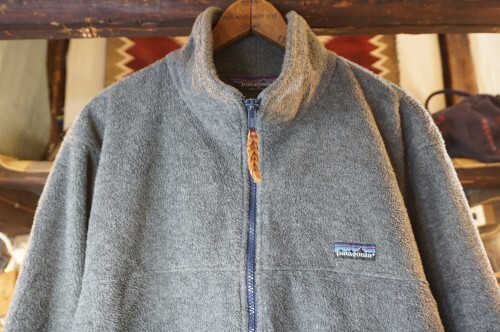 "early 90's Patagonia gray zip-up Jacket ""Made in U.S.A."""