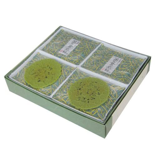 茶の葉煎餅 16袋32枚入