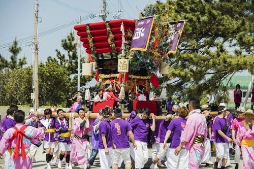 南あわじ市 沼島八幡神社春祭り