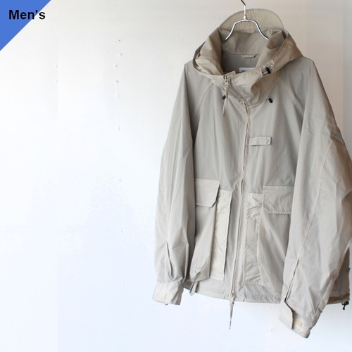 【ラスト1点】ENDS and MEANS Fishing Jacket(Light Gray)