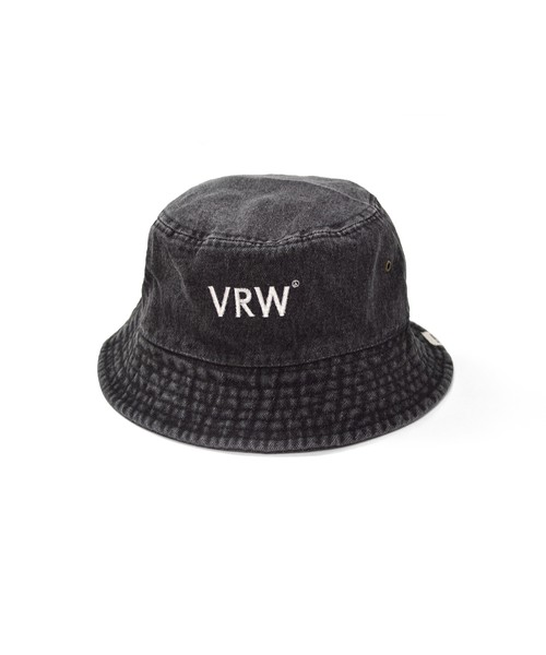 VRWY Bucket Hat / Lt BLACK DENIM