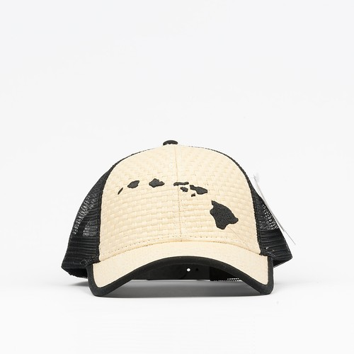808 Clothing Straw Islands Embroidery Trucker Hat【808クロージング】ストロー アイランド エンボイドリー トラッカー ハット