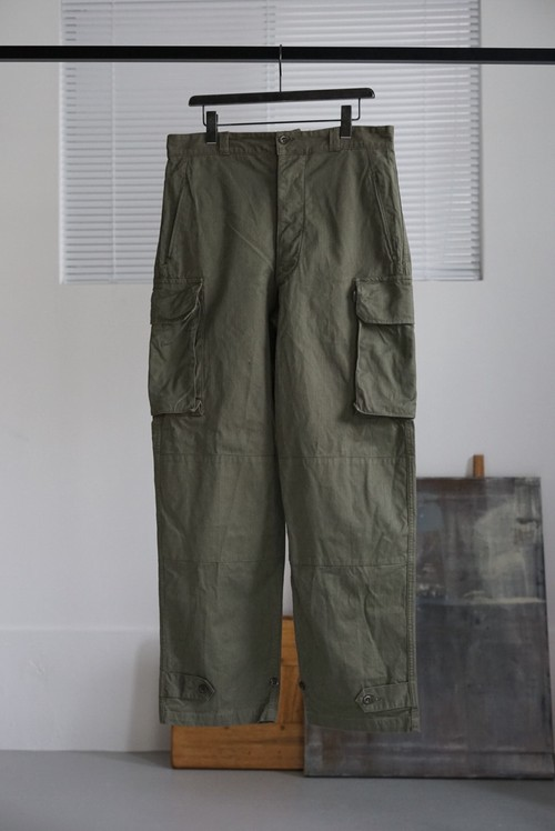 <SOLD OUT>French Military - Dead Stock M-47 Pants Later