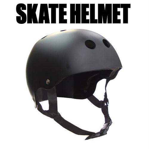 ABS スケートヘルメット マットブラック