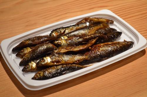 ハヤ(川魚)の煮付け( 100g)