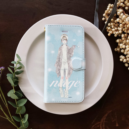 iPhone case:neige(手帳型)