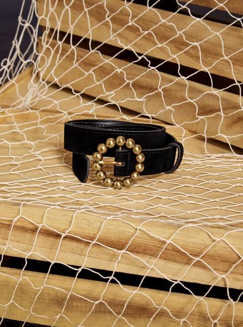 【sister jane】Gold Buckle Belt