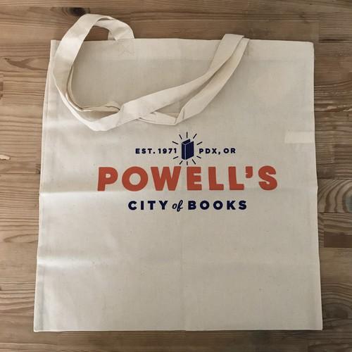 POWELL'S CITY OF BOOKS コットンバッグ