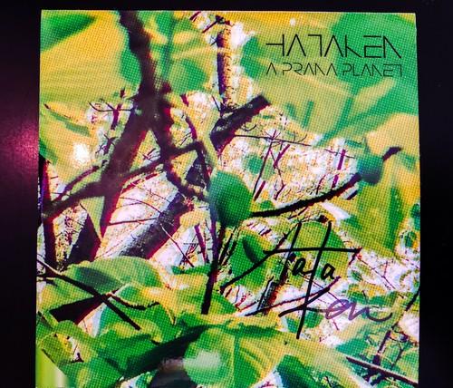 直筆サイン入り【HATAKEN】-A PRANA PLANET-