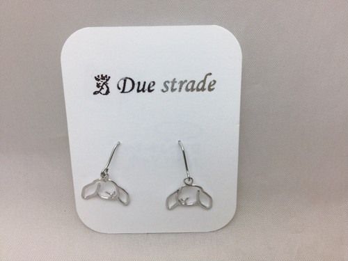 Due stradeロップイヤーピアス(セットアップ)