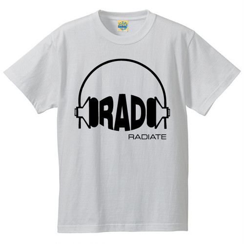 [RAD] T-shirt / White
