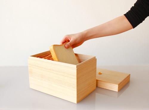 KEI パン・お菓子入れ : 桐 桐箱 お薬 小物 書類 救急箱 保存食 保管 収納 として