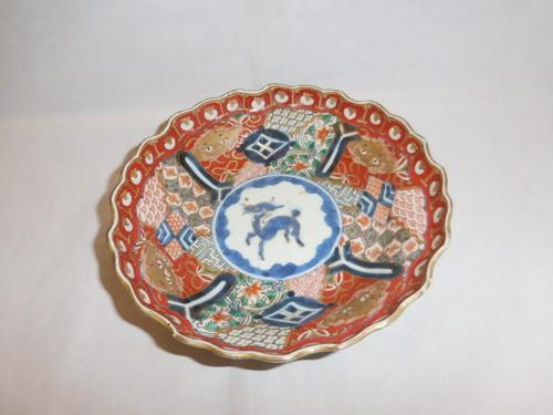 伊万里色絵元禄なます皿 Imari colored porcelain one bowl
