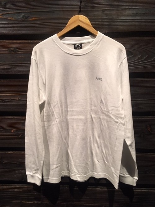 AREth  Stamp L/S Tee  white  Mサイズ