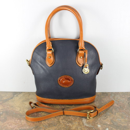 .Dooney&Bourke LEATHER 2WAY SHOULDER BAG MADE IN USA/ドゥーニー&バーク2wayレザーショルダーバッグ 2000000044385