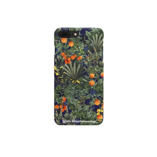 iPhone7Plus case【TROPICAL PATTERN】- NAVY