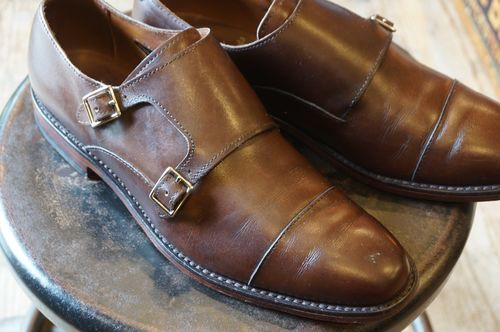 "Allen Edmonds double monk strap Shoes ""Mora 2.0"""