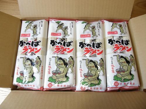 かっぱラーメン(とんこつ味)20袋1箱セット
